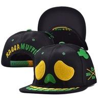 2014 fashion adult cool unisex casual skull hats caps visor 1pcs AH023R