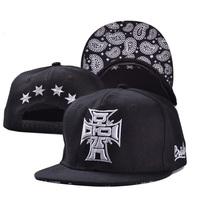 2014 fashion adult women men black tatoo hip hop street casual cool hats caps visor 1pcs AH009R