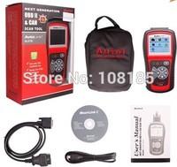 Original Autel AutoLink AL519 Next Generation OBD II and CAN Scan Tool AutoLink AL 519 Code Scanner Free Shipping