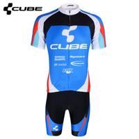2014 Sports Jerseys CUBE Men's Road Racing Ciclismo Cycling Jerseys Bicycle Clothing Maillot (bib) Shorts sets