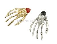 punk earrings wholesale hot fashionable skeleton ghost hand ear bones earring jackets free shipping