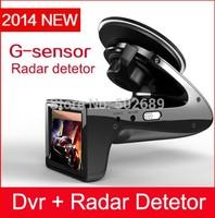 SH818 HD 1080p Car DVR Camera Recorder with E-dog Radar Detector H.264 Car Black Box Camera Radar Detection Free Shipping