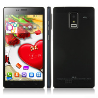 Good quality 5.5 inch P780 MTK6582 quad core 1.3GHz 1GB RAM 4GB ROM camera GPS 3G wcdma android 4.4 smart phone free flip cover