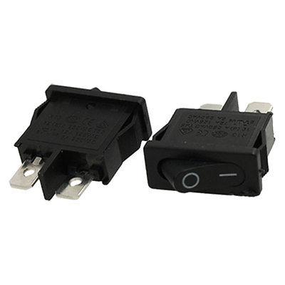 Кулисный переключатель 10 250 AC 6A SPST 2 кулисный переключатель switch ac 6a 250 10 125v 2 spst 5 okbub