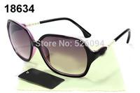 2014 brand new women sunglasses with logo / box  fashion outdoor sun glasses