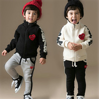 5set/lot wholesale jacket pant 2pcs kids clothes set boy's clothing active long sleeve sets child clothing