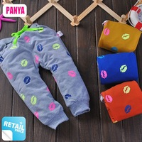 1pc retail baby pants 2014 spring pants for baby cotton children trousers high quality harem pants kids clothes PANYA RH03