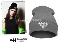 2014 New Fashion Knitting Winter Wool Acrylic Brand Skullies and Beanies Hip Hop Warm Hats Gorros Bonnets Women's Baseball Caps