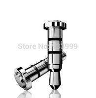 10pcs 360 Klick quick button smart 3.5mm key for smart phone dustproof plug for andriod Smartphone dust plug