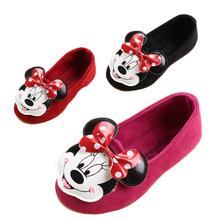new arrival fashion sneaker children girls single shoes cute cartoon princess flat shoes kids girl dance shoes (China (Mainland))