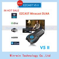 2014 New Vsmart V5II Ezcast Smart TV Stick Media Player WIFI DLNA Miracast Chromecast Display Receiver Mini PC DLNA