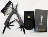 Ganzo G301B Motor Multi Tool Kit Pocket Pliers Outdoor Survival Hunting Fishing Folding Knife Tools w/ Nylon Sheath bag No box