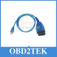 Hot Selling !! 2014 Vag 409 VAG-COM 409.1 Vag Com 409.1 KKL OBD2 USB Cable Scanner Scan Tool Interface For VW Kia Free Shipping