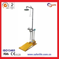 2014 wholesales emergency stainless steel Anti-Freeze Safety Shower