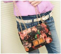 Free shipping women handbags design print casual Messenger bags