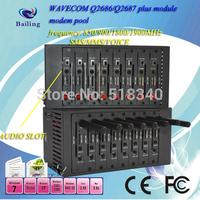 8 ports Wavecom Q2406 GSM/GPRS Modem pool sms modem pool