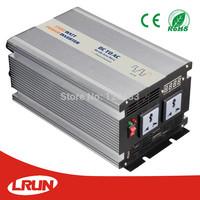 Modified sine wave power Inverter 1500W 12V 220V with LED Display, 5V 1.5A USB, Aluminum Housing