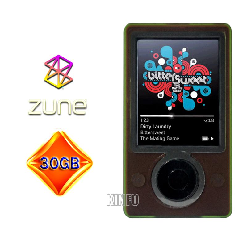 3.0 inch LCD Display Microsoft Zune 30 GB Digital Media Player MP3 MP4 Music Player Brown/Black Zune-H23(China (Mainland))