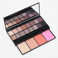 2014 New PRO 20 Color Makeup Set 16 Color Eyeshadow 4 Color Blusher Platte Set Beauty Cosmetics Free Shipping