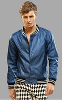 Hot Men's Thin type of jacket  The New 2014 Classic Letter baseball uniform Jackets Coat Free Shipping