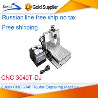 Free ship no tax Brand New 3 Axis CNC 3040 Router Engraver CNC 3040T-DJ Cutting Machine Engraving Machine