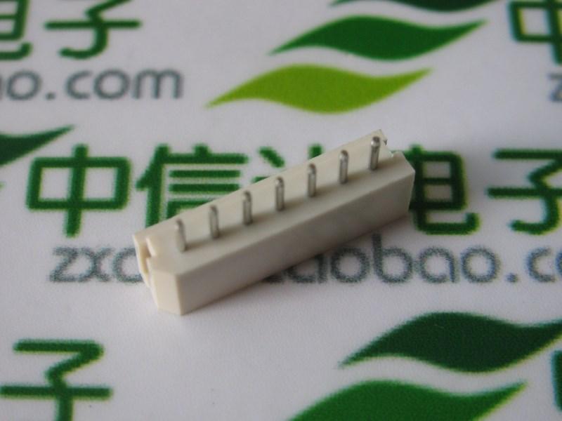5264 - 5264 7P connector straight leg straight needle seven straight pin DIP socket 2.5MM(China (Mainland))