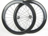 23mm width 60mm tubular carbon fiber road bike wheels in stock