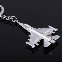 2014 Llaveros Chaveiro Free Shipping,sliver Luxury Car Key F22 Aircraft Keychain Metal Airplane Keyring For Souvenirs For Keys