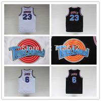 Chicago #23 Michael Jordan Tune Squad Basketball Jersey, Miami #6 Lebron James LOONEY TOONES Jersey Space Jam Sport Shirt