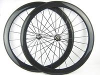 23mm width 50mm tubular 700c carbon fiber bicycle road wheelset