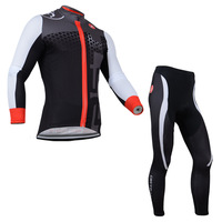 free shipping 2014 Castelli Team Long Sleeve Cycling Jersey And Pants/professional sports wear