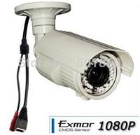Full HD Bullet amera 1080P 35m Ir Range PoE 2.8-12mm Outdoor IP Camera