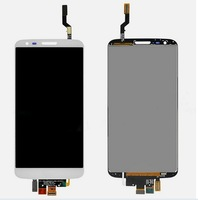 For LG Optimus G2 D802 D805 touch digitizer and LCD display black and white color DHL Free Shipping
