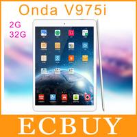 "cheap Onda V975i Intel Z3735D Quad Core Tablet PC 9.7"" Screen Retina 2048*1536 2GB RAM 32GB ROM 5.0MP Wifi Bluetooth OTG"