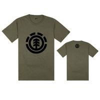11  styles Element  tee shirts hiphop with black  logo stree  tees short sleeve t-shirts o neck tees men t shirt  size S-XXXL