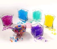 Life83  5g*100bag Pearl shaped Crystal Soil Water Beads Mud Grow Magic Jelly balls wedding Home Decor