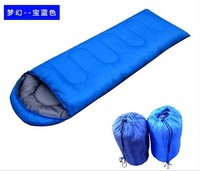 ultra-light outdoor camping sleeping bag Envelope hoodeds spring summer and autumn camping sleeping bag