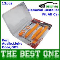 Portable And Practical Auto Car Radio Panel Door Clip Panel Trim Dash Audio Removal Installation Pry Repair Tool Full Set 12 pcs