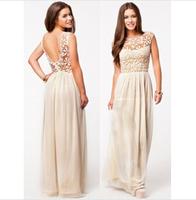 High quality women dress summer fairy chiffon lace stitching Slim waist dress sleeveless vest female dress free shipping