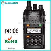 Wouxun Radio frequency scanner wide band KG-UVD1P 66-88/136-174MHz (higher 1700mAh Li-ion Battery)