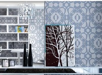 3D  wallpaper non-woven thick three-dimensional 3d wallpaper sofa background wall wallpaper