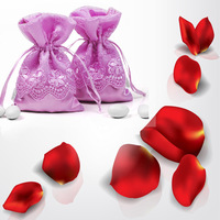 Creative gift bag lace handmade candy bags | Wedding Party Favor Pack