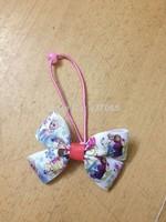 NEW 2014 Hot Sale Frozen Hair Bows Girls Hair Accessories Frozen Hair Bands Princess Elsa & Anna