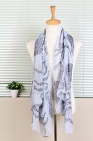 1PC 100*180cm Unique design  leopard style printed lady long viscose shawl/WJ-152