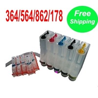 with chip Continuous Ink Supply System CISS for HP 178/364/564/862  D5460 D7560 D6380