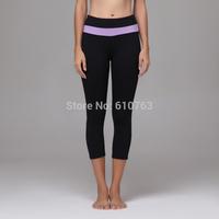 Fashional and Comfortable yoga clothing, made of 87% Nylon and 13% Spandex women yoga pants