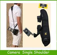 Top Sale 1PC Neck Strap Quick Rapid Shooting Camera Single Shoulder Sling Strap Belt Shock Absorption For DSLR SLR Cameras