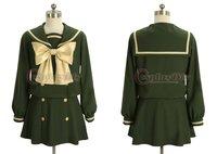 Free Shipping Customized Uniform Cosplay Costume Shakugan no Shana Cosplay Costume
