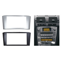 Car Radio Facia for TOYOTA Avensis Stereo Dash Kit Fitting Installation Fascia Face CD Plate Surround Panel DVD Frame Double DIN