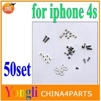 50set  Replacement Full Screw Set for iPhone 4S 4GS Free Shipping